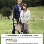 La publicité s'allie aux agriculteurs
