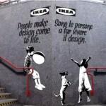 IKEA se met au Street Art