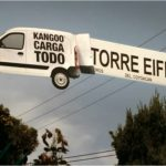 Renault Kangoo s'expose dans les rues de Mexico