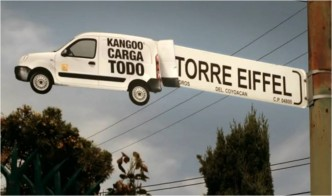 Renault Kangoo Guerilla Marketing