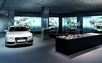 Audi City Londres showroom digital 2