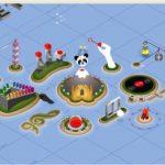 Happiness Islands : l'univers merveilleux de Coca Cola réuni dans un même site