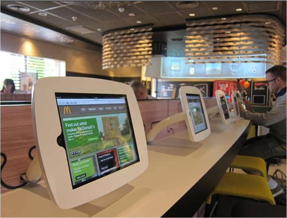 Les Restaurants Mcdonald S Se Digitalisent