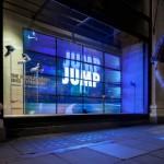 Les huit vitrines interactives de Nike installées au Selfrigde de Londres
