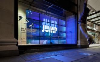 Les huit vitrines interactives de Nike installées au Selfrigde de Londres-6