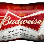 Budweiser adapte les packagings de ses canettes à son logo