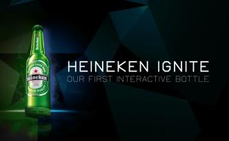 Heineken Ignite une bouteille interactive et lumineuse