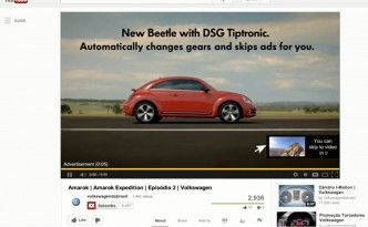 Pre-roll Youtube Volkswagen New Beetle