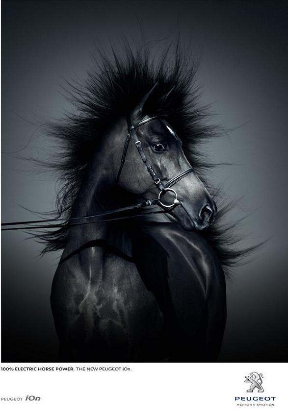 Peugeot_iOn_Electric_publicit_cheval_electrique