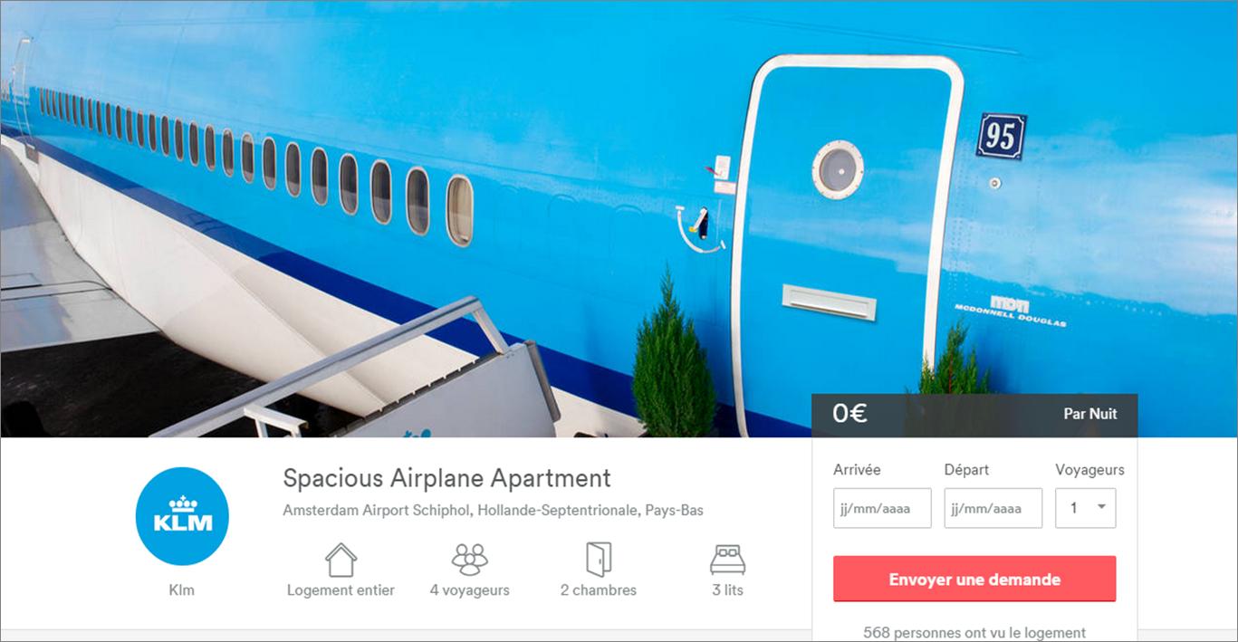 airbnb_Nuit_avion_KLM